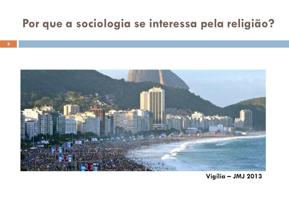 Por que a sociologia se interessa pela religião