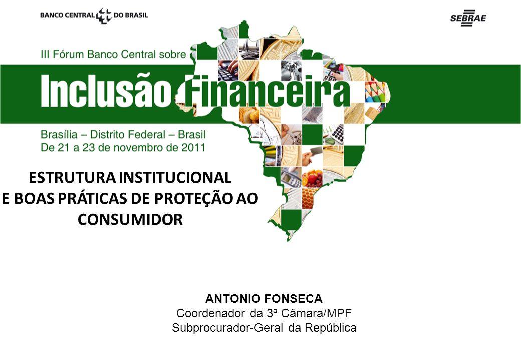 ESTRUTURA INSTITUCIONAL E BOAS PRÁTICAS DE PROTEÇÃO AO CONSUMIDOR