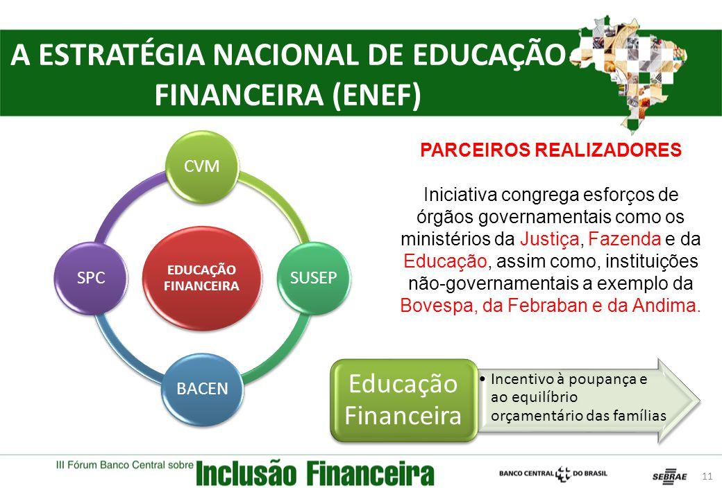 A ESTRATÉGIA NACIONAL DE EDUCAÇÃO FINANCEIRA (ENEF)