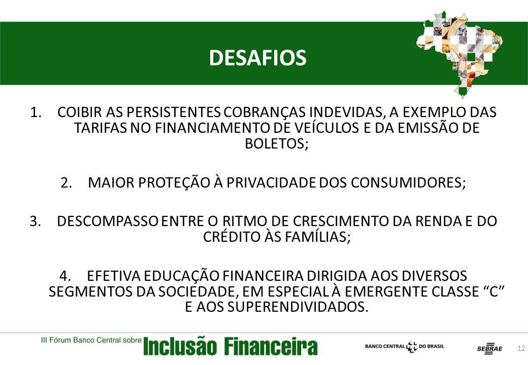 MAIOR PROTEÇÃO À PRIVACIDADE DOS CONSUMIDORES;