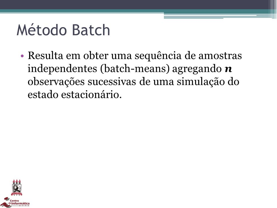 Método Batch