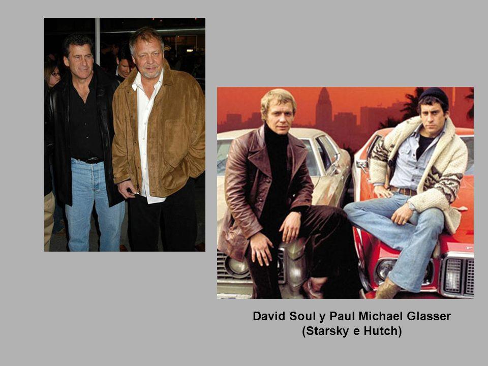 David Soul y Paul Michael Glasser