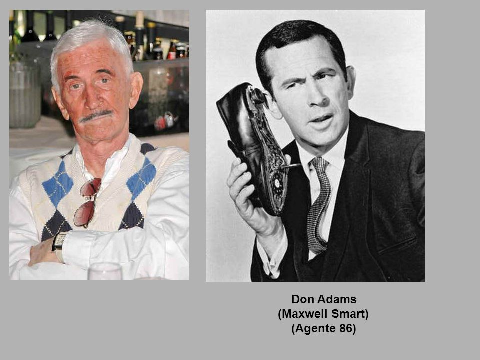 Don Adams (Maxwell Smart) (Agente 86)