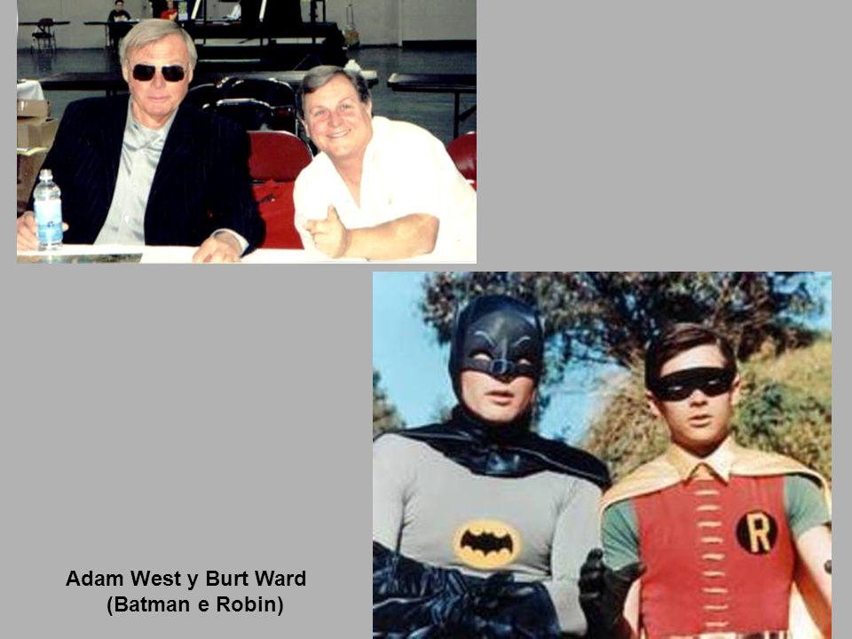 Adam West y Burt Ward (Batman e Robin)
