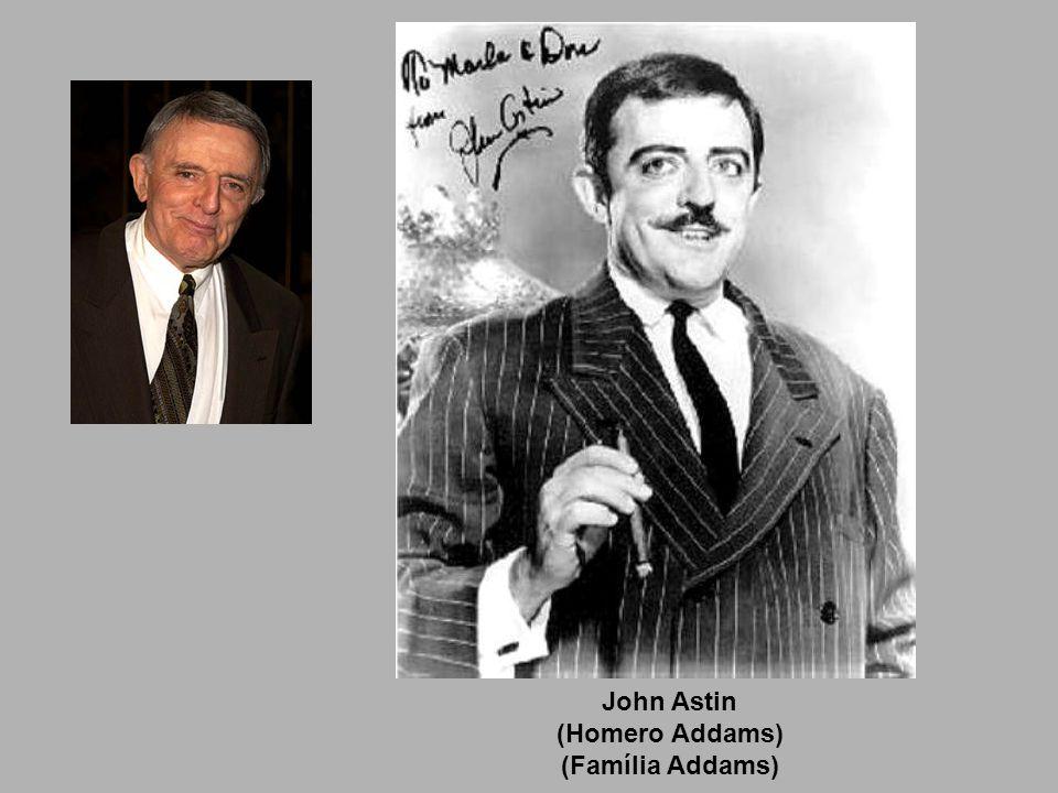 John Astin (Homero Addams) (Família Addams)