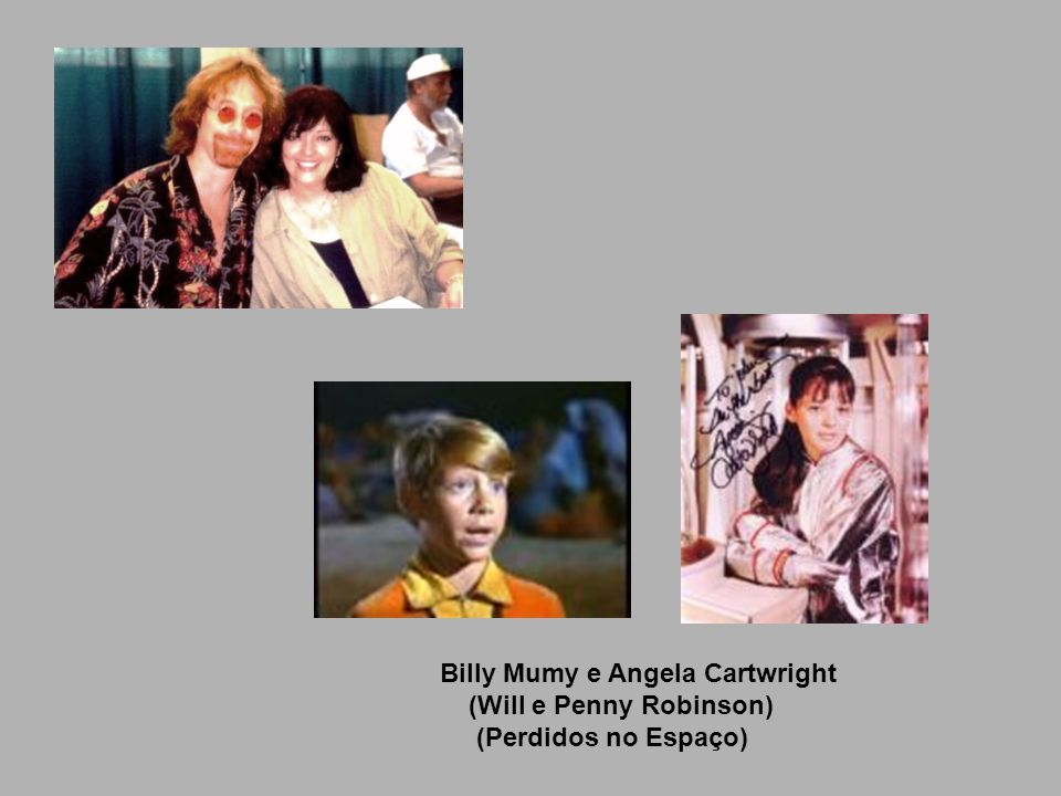 Billy Mumy e Angela Cartwright
