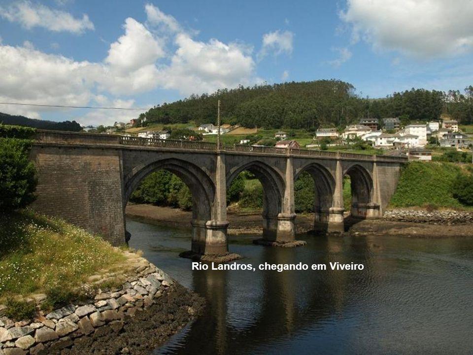 Rio Landros, chegando em Viveiro