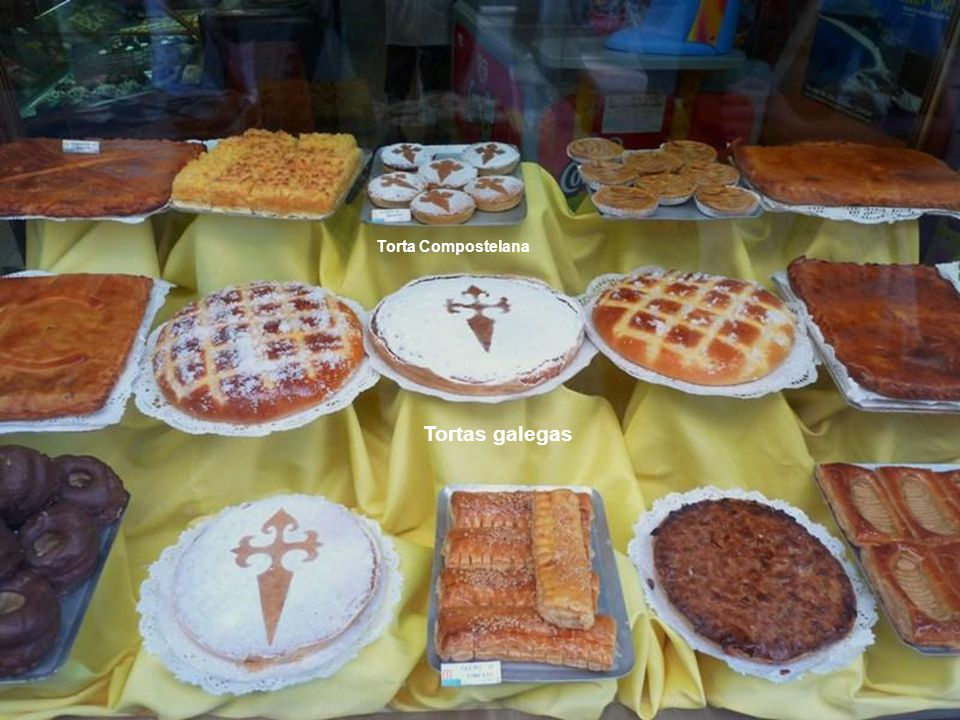 Torta Compostelana Tortas galegas
