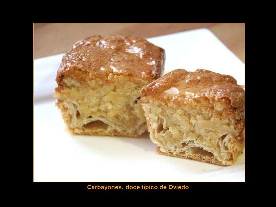 Carbayones, doce típico de Oviedo