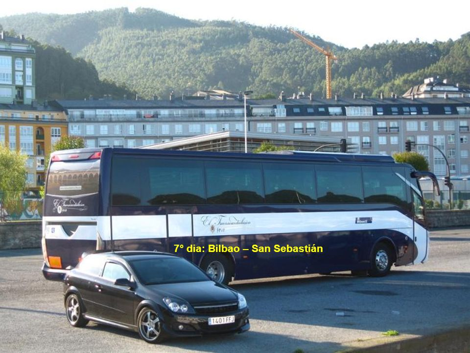 7° dia: Bilbao – San Sebastián