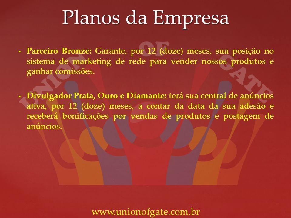 Planos da Empresa www.unionofgate.com.br