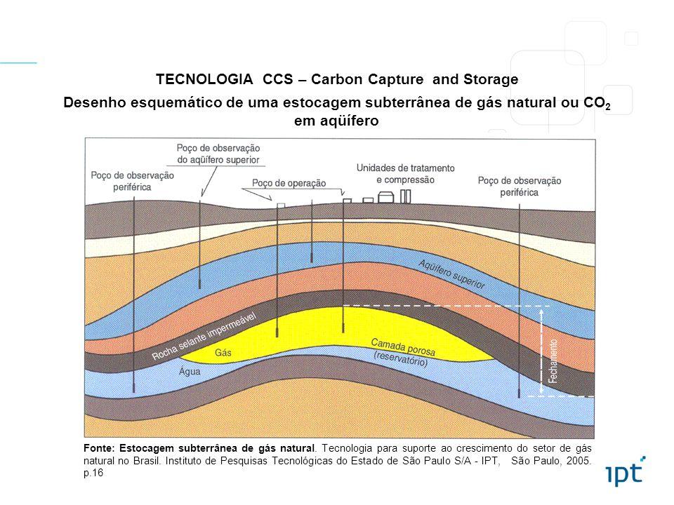 TECNOLOGIA CCS – Carbon Capture and Storage