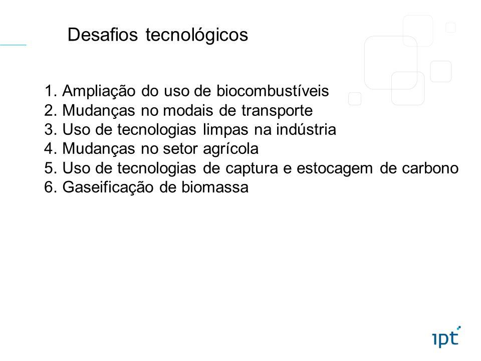 Desafios tecnológicos