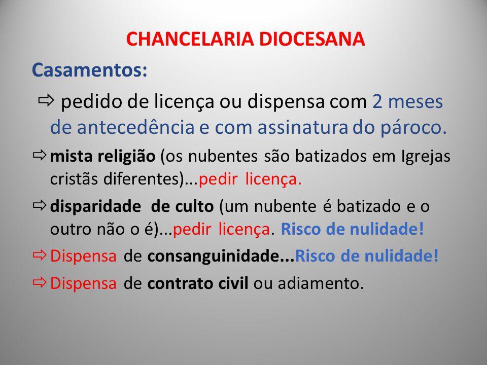 CHANCELARIA DIOCESANA