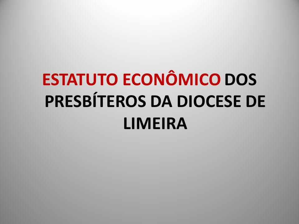 ESTATUTO ECONÔMICO DOS PRESBÍTEROS DA DIOCESE DE LIMEIRA
