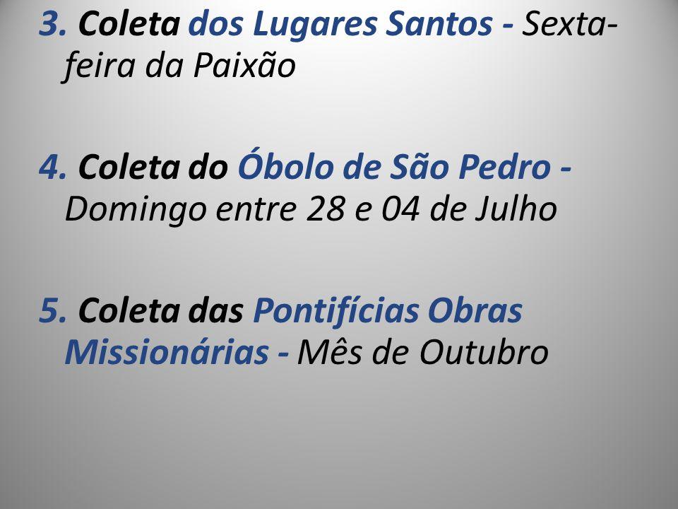 3. Coleta dos Lugares Santos - Sexta-feira da Paixão 4
