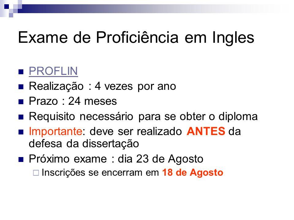 Exame de Proficiência em Ingles
