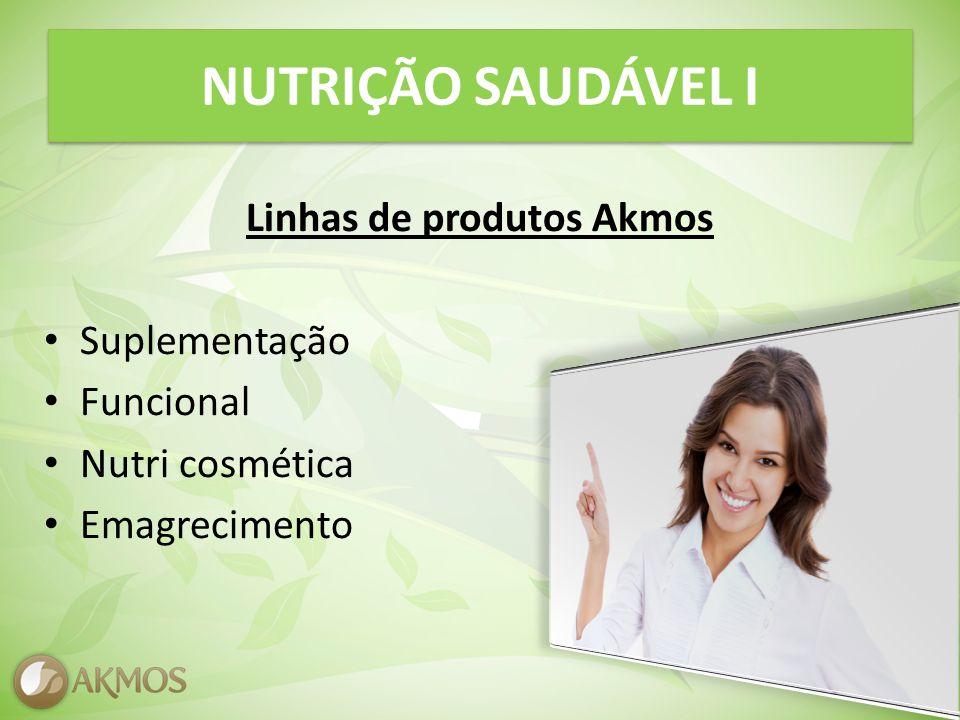 Linhas de produtos Akmos