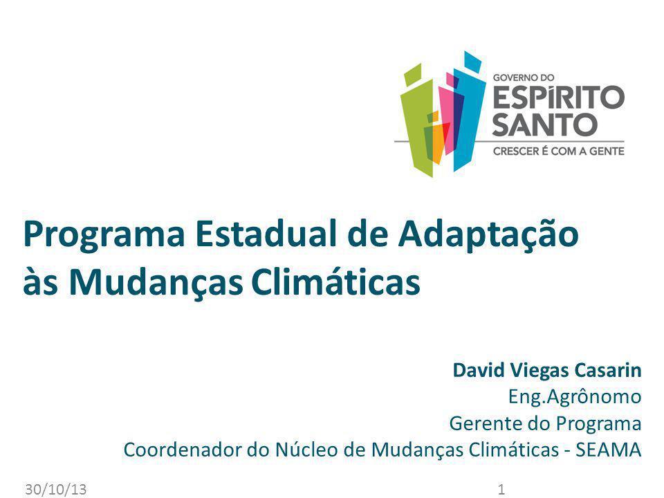 Programa Estadual de Adaptação às Mudanças Climáticas