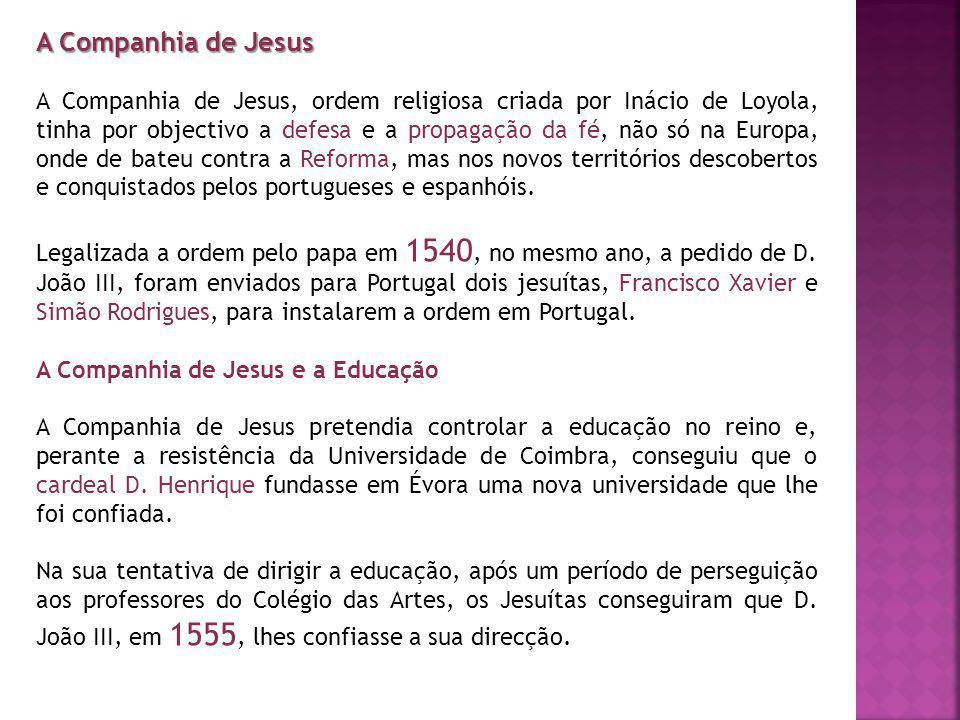 A Companhia de Jesus