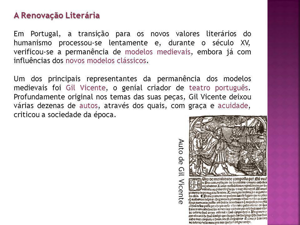 A Renovação Literária