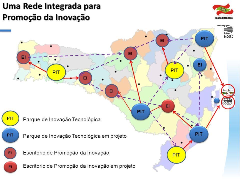 Uma Rede Integrada para Promoção da Inovação
