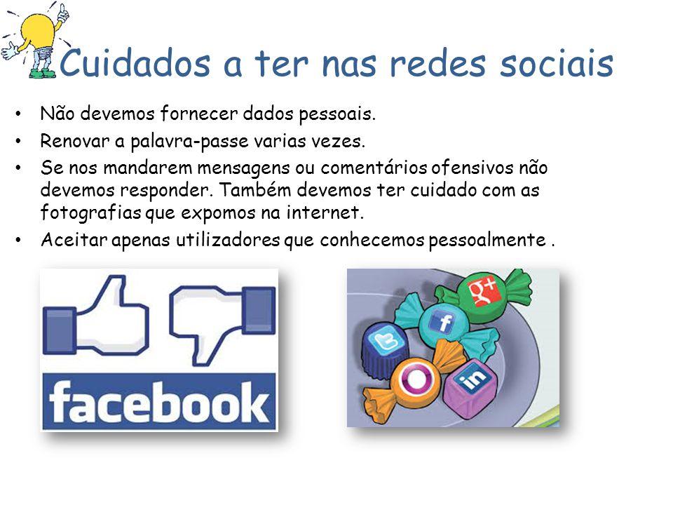 Cuidados a ter nas redes sociais
