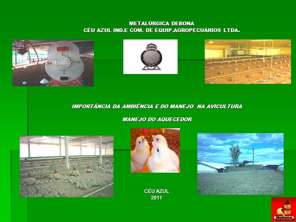 METALÚRGICA DEBONA CÉU AZUL IND.E COM. DE EQUIP.AGROPECUÁRIOS LTDA.