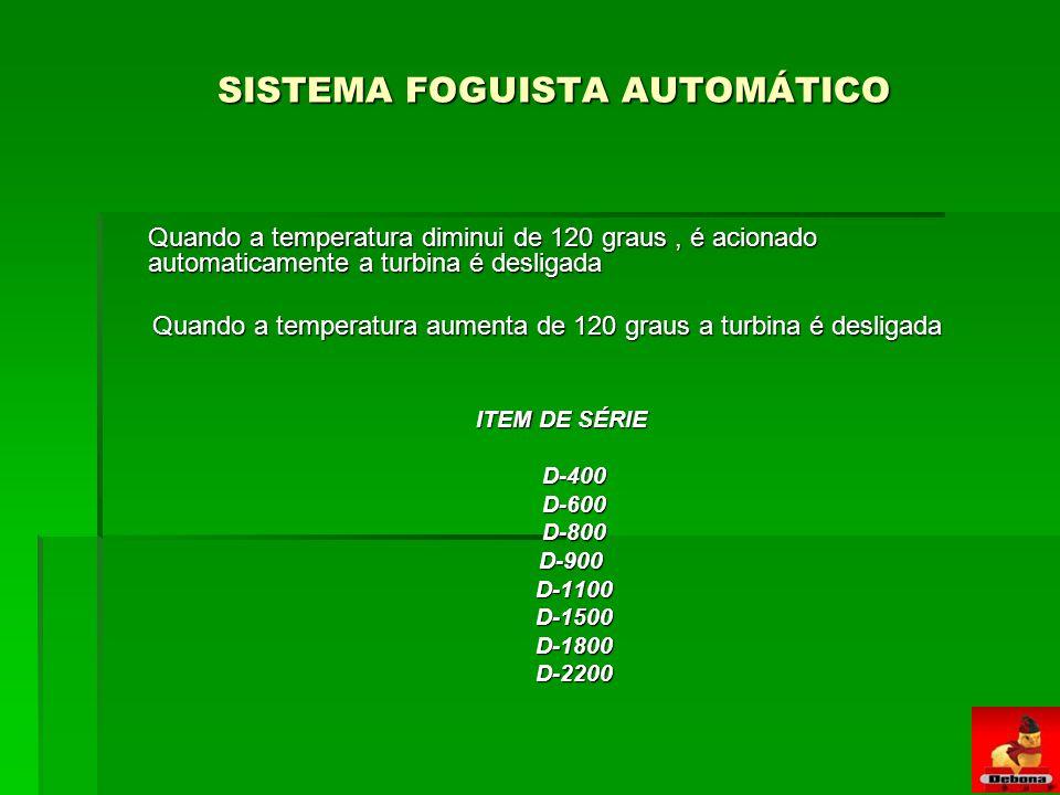 SISTEMA FOGUISTA AUTOMÁTICO