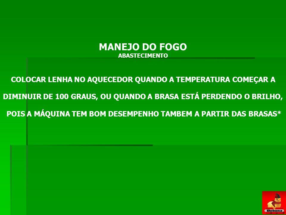 MANEJO DO FOGO MANEJO DO FOGO: