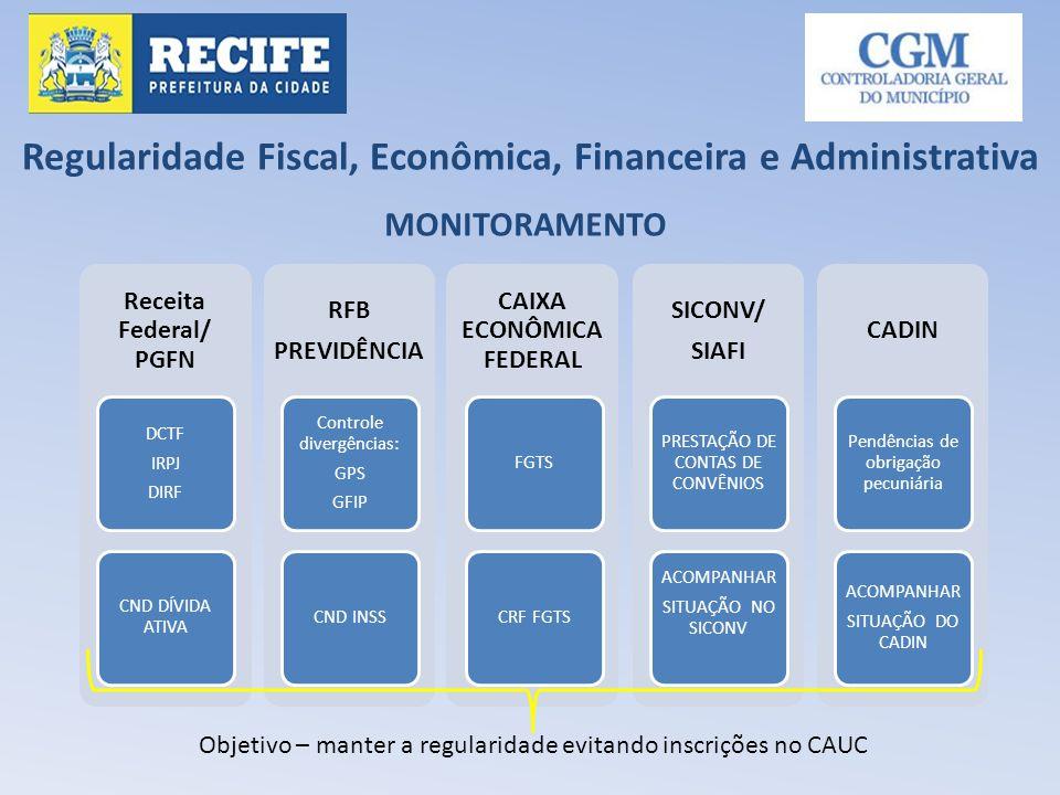 Regularidade Fiscal, Econômica, Financeira e Administrativa