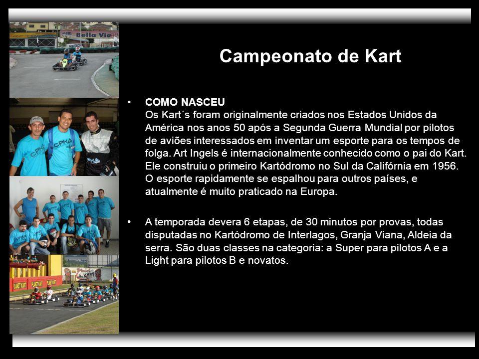 Campeonato de Kart PÚBLICO.