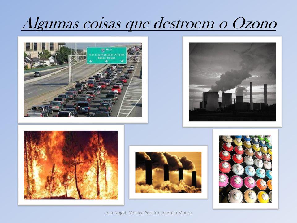 Algumas coisas que destroem o Ozono