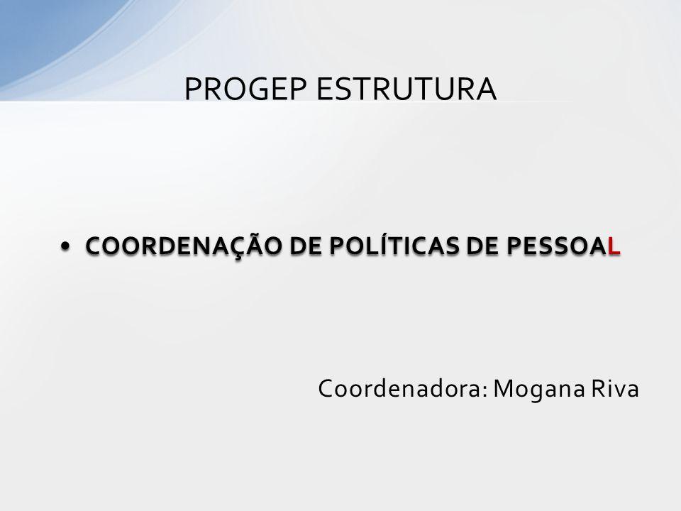 COORDENAÇÃO DE POLÍTICAS DE PESSOAL