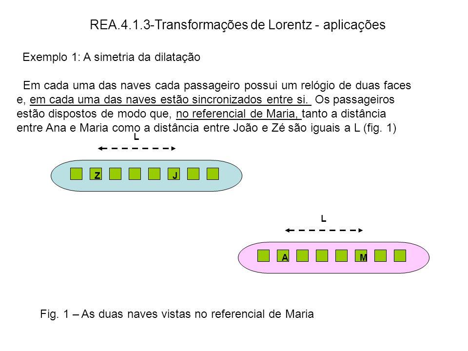 REA.4.1.3-Transformações de Lorentz - aplicações