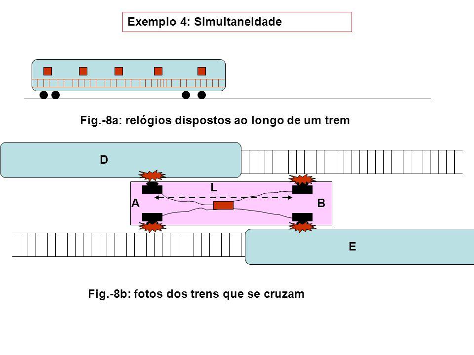 Exemplo 4: Simultaneidade