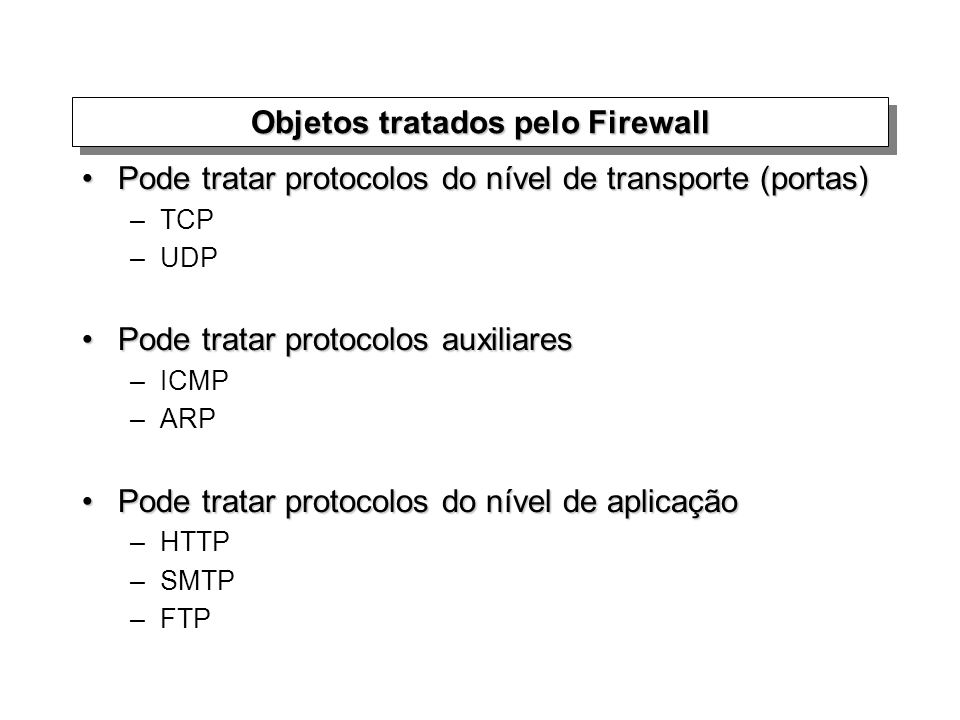 Network Address Translation (NAT) Virtual Private Network (VPN)