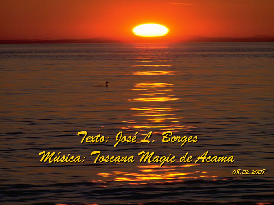 Música: Toscana Magic de Acama