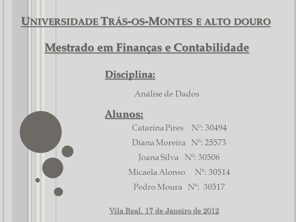 Universidade Trás-os-Montes e alto douro