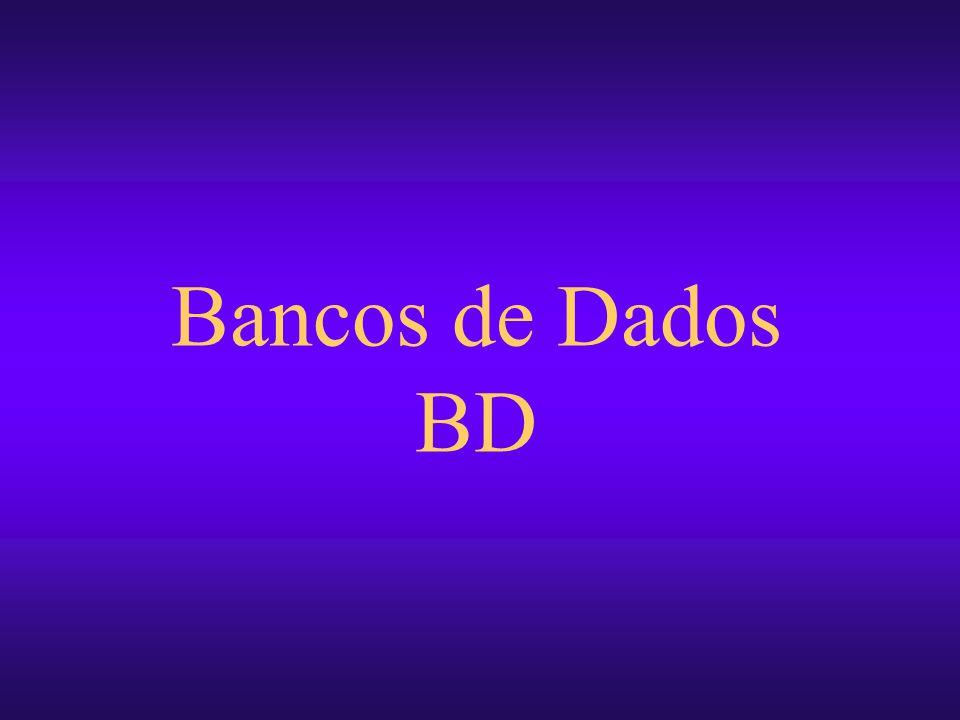 Bancos de Dados BD