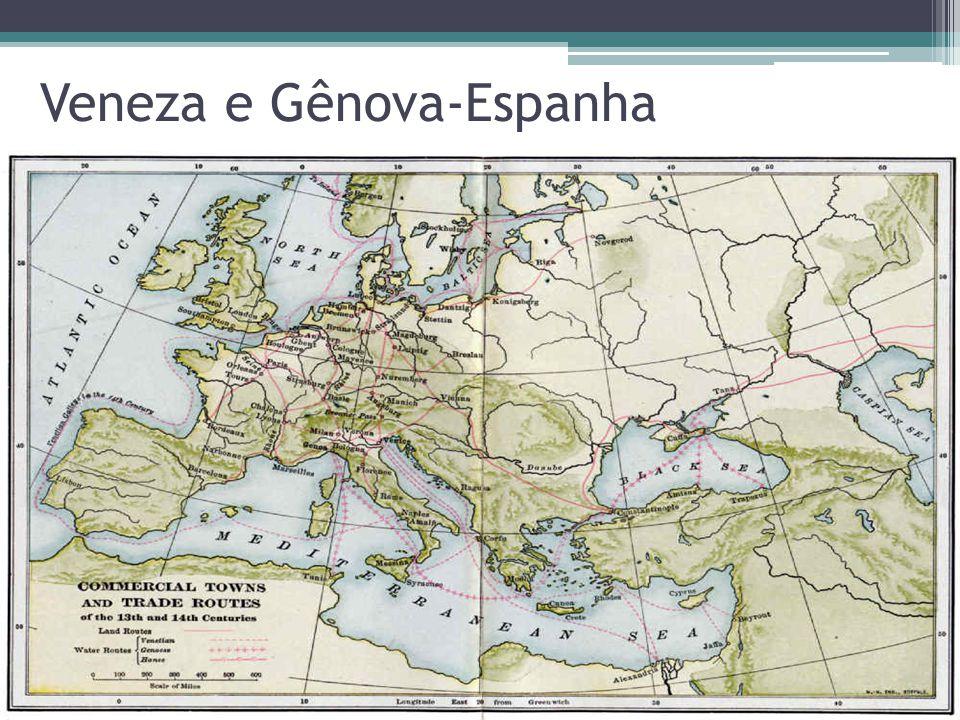 Veneza e Gênova-Espanha