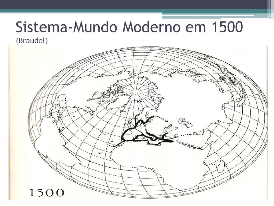 Sistema-Mundo Moderno em 1500 (Braudel)