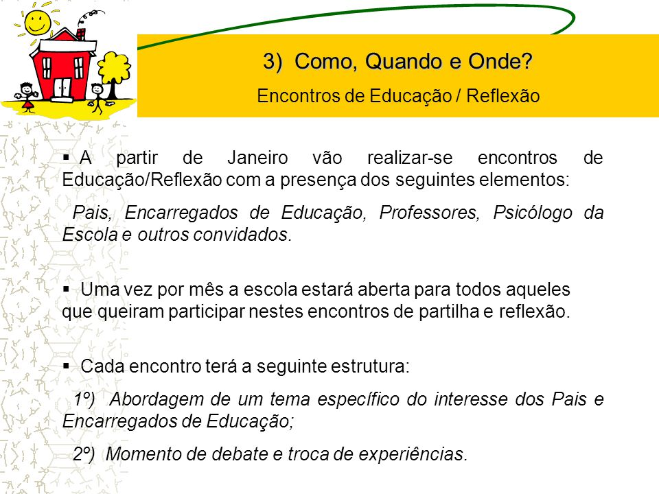 Encontros de Educação / Reflexão
