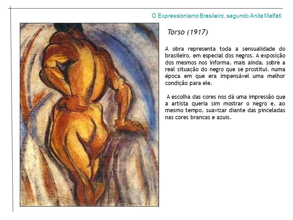 Torso (1917) O Expressionismo Brasileiro, segundo Anita Malfati