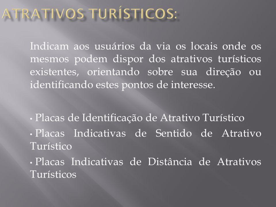 ATRATIVOS TURÍSTICOS: