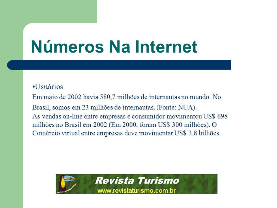 Números Na Internet Usuários