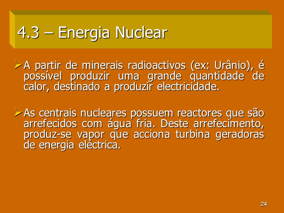 4.3 – Energia Nuclear