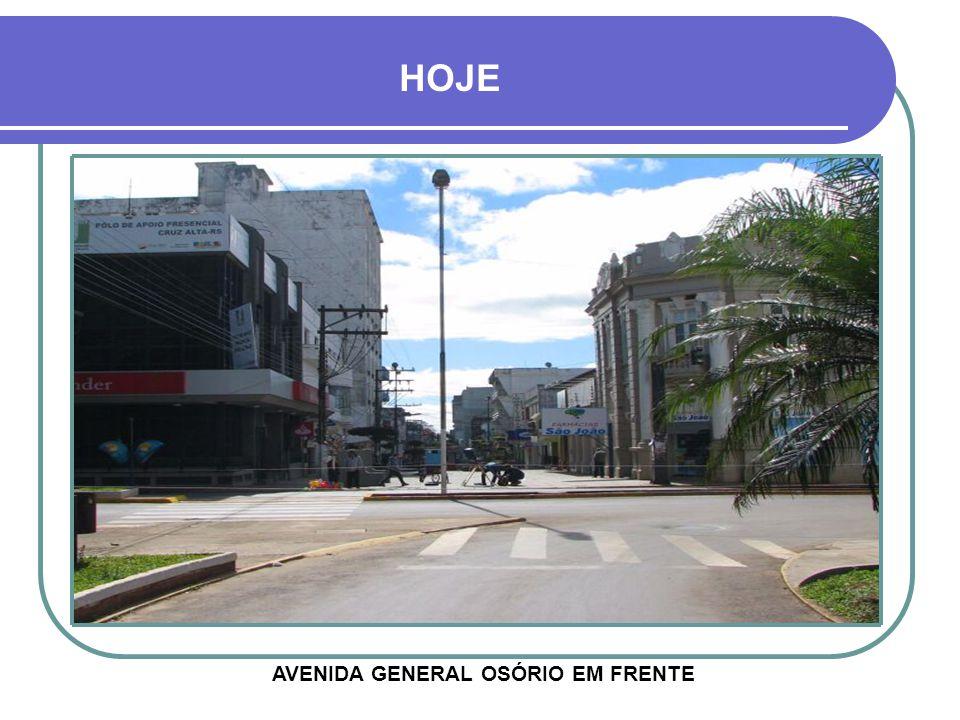 AVENIDA GENERAL OSÓRIO EM FRENTE