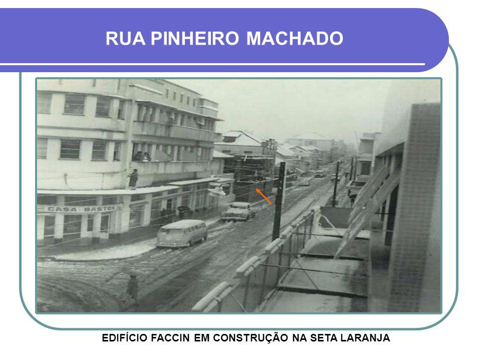 EDIFÍCIO FACCIN EM CONSTRUÇÃO NA SETA LARANJA