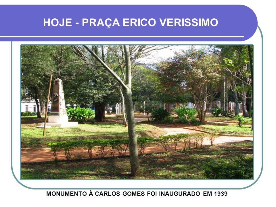 MONUMENTO À CARLOS GOMES FOI INAUGURADO EM 1939